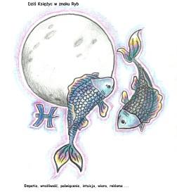 Księżyc w znaku Ryb