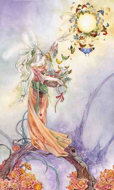 Tarot Shadowscapes Cesarzowa Alchemik Bohema