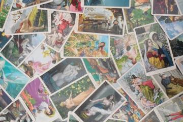 Victorian Romantic Tarot by Karen Mahony