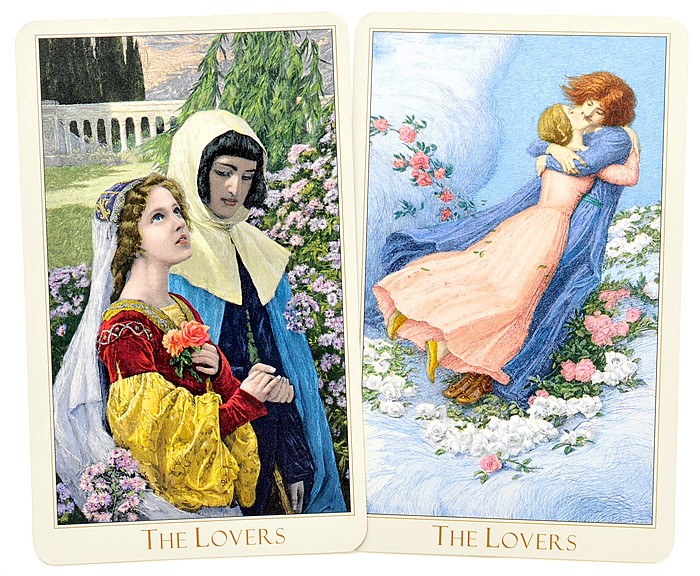 Kochankowie The Victorian Romantic Tarot