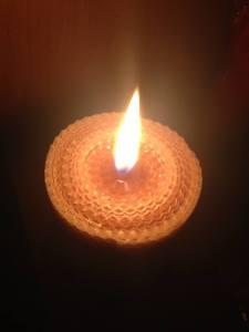 świece naturalne Księgarnia Alchemik
