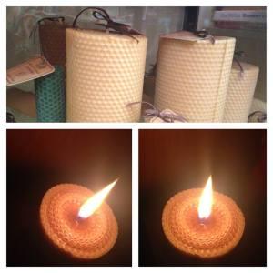 świece z wosku