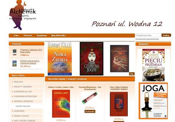 Księgarnia Alchemik Poznań