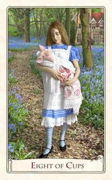Tarot Alicja w Krainie Czarów - The Alice in Wonderland Tarot