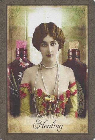 Karty Vintage Wisdom Oracle - Victoria Moseley